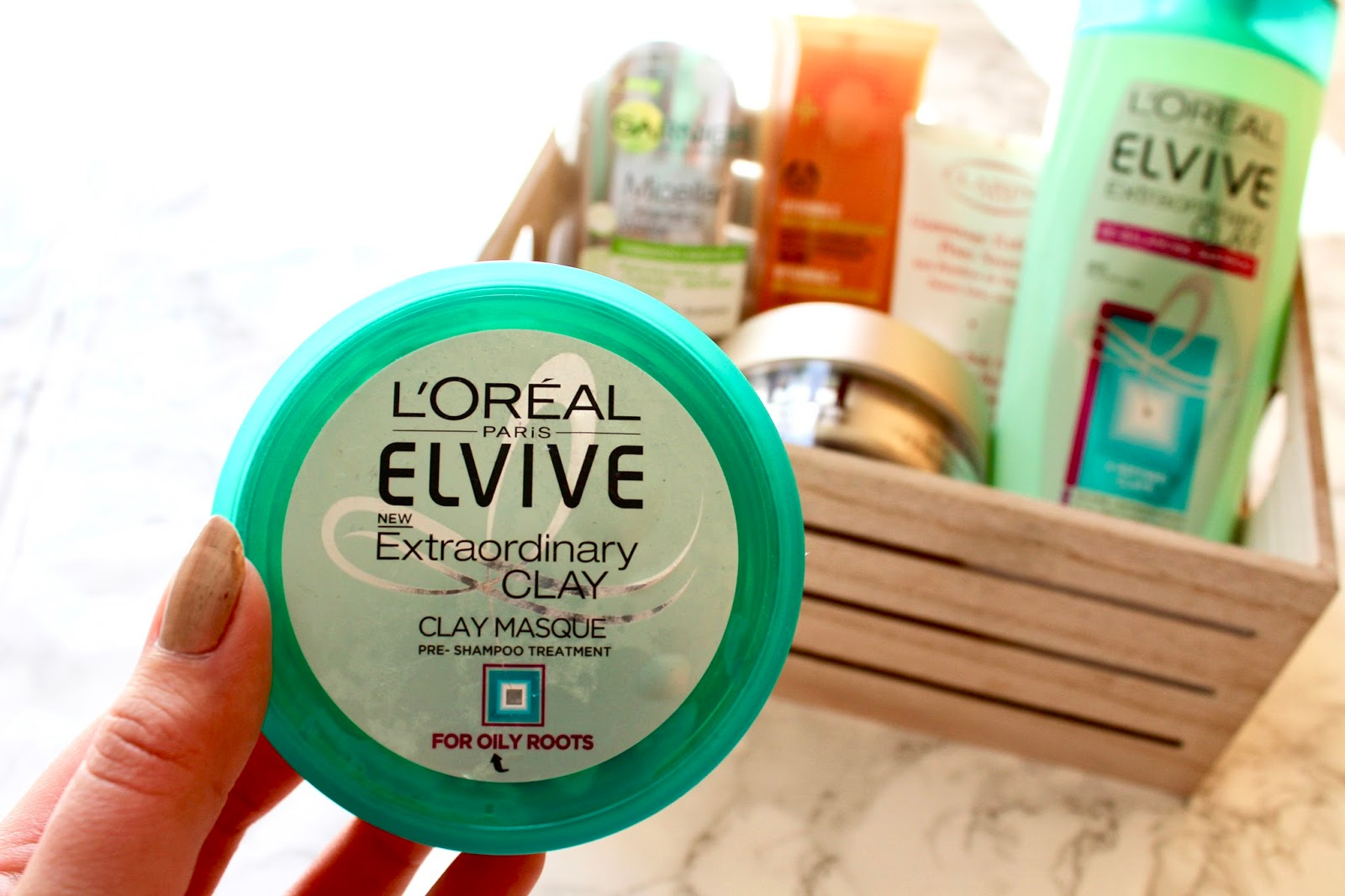 Empties L'Oreal Elvive Clay Masque