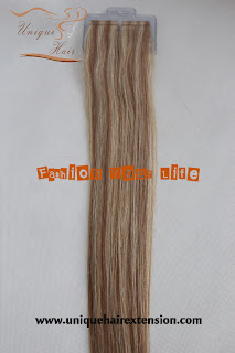 mix color hair extensions