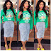 Thembi Seete's post-baby body flares.