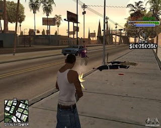 Imagens do jogo (GTA-SAN ANDREAS PS2 pt-br) site JSV