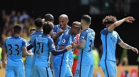 عاجل مانشستر سيتي بطلاً للدوري الإنجليزي 2018