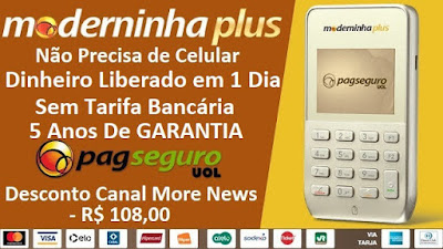 Comprar moderninha plus