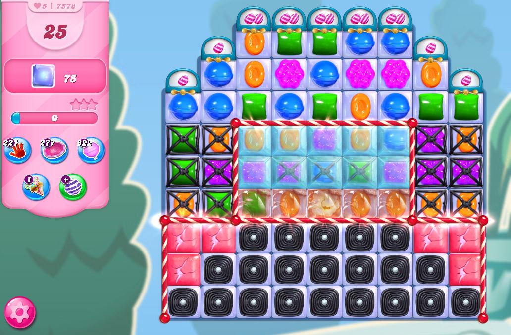 Candy Crush Saga level 7578
