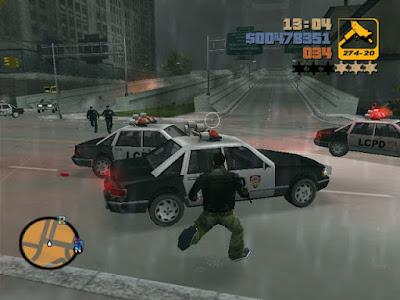 تحميل لعبة GTA 3 للكمبيوتر برابط واحد من ميديا فاير