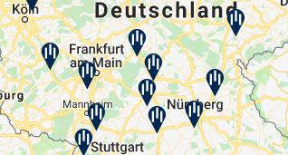 Autobahnhotels Deutschland, Hotels rechts und links der Autobahn