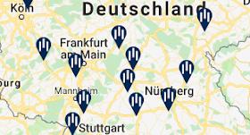 autobahnhotels deutschland karte Autobahnhotels ✓️ Hotels links und rechts der Autobahn Deutschland