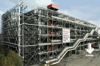A Sunday At  Le Centre Georges Pompidou I Travelling Hopper; August, 2016