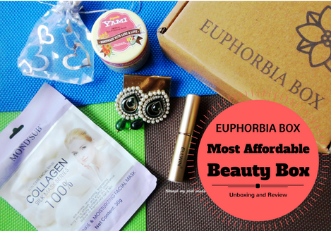 Unboxing of The Most Affordable Beauty Subscription Box Euphorbia Box| October Euphorbia Box Unboxing and Review