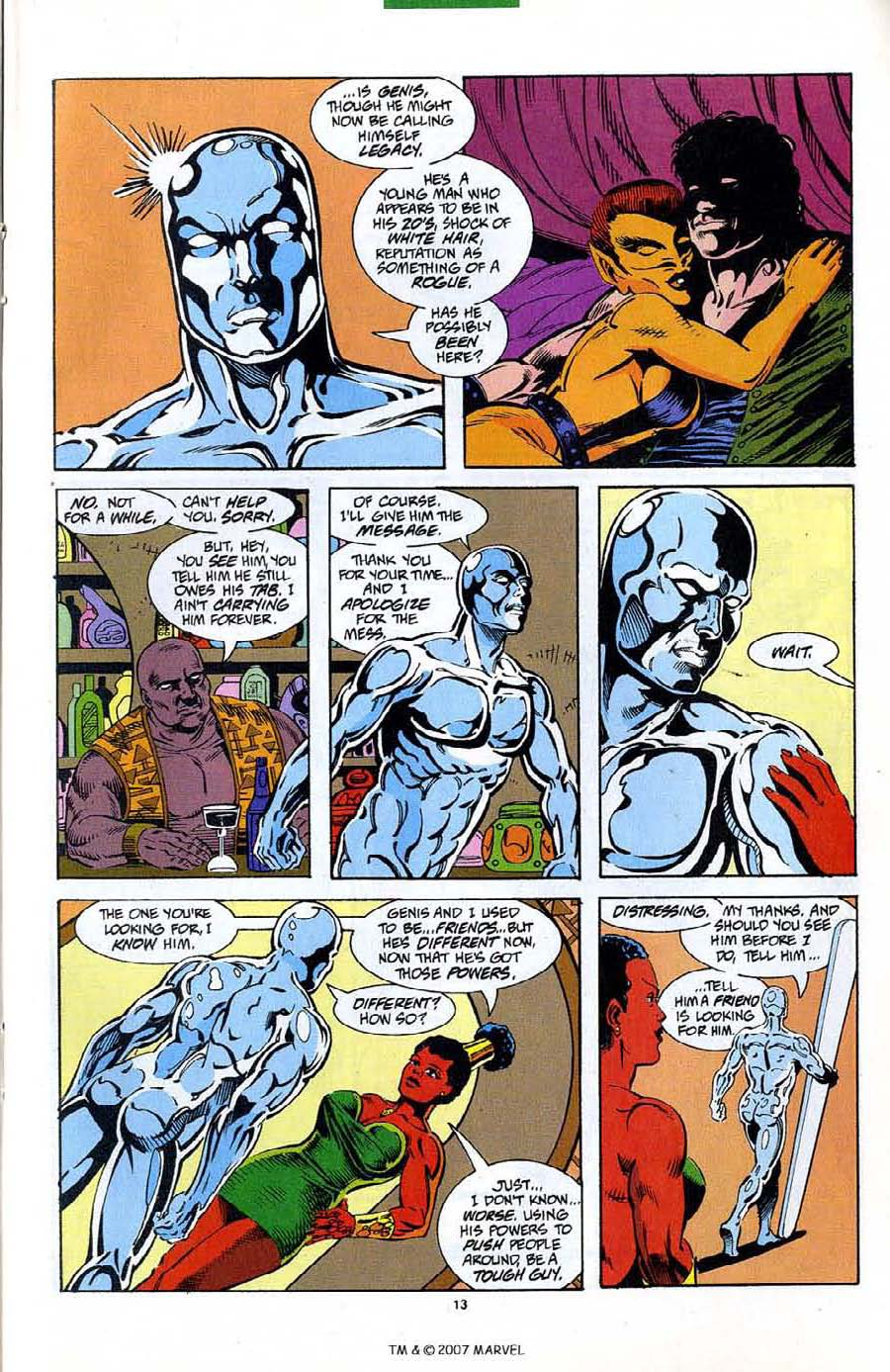Read online Silver Surfer (1987) comic -  Issue #89 - 15