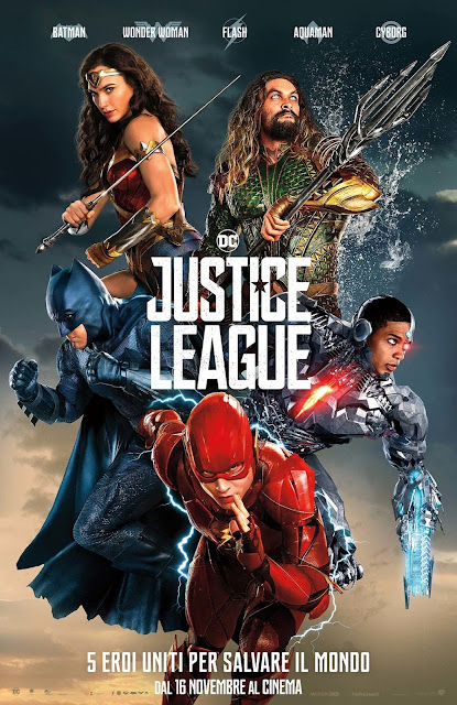 Justice League recensione poster