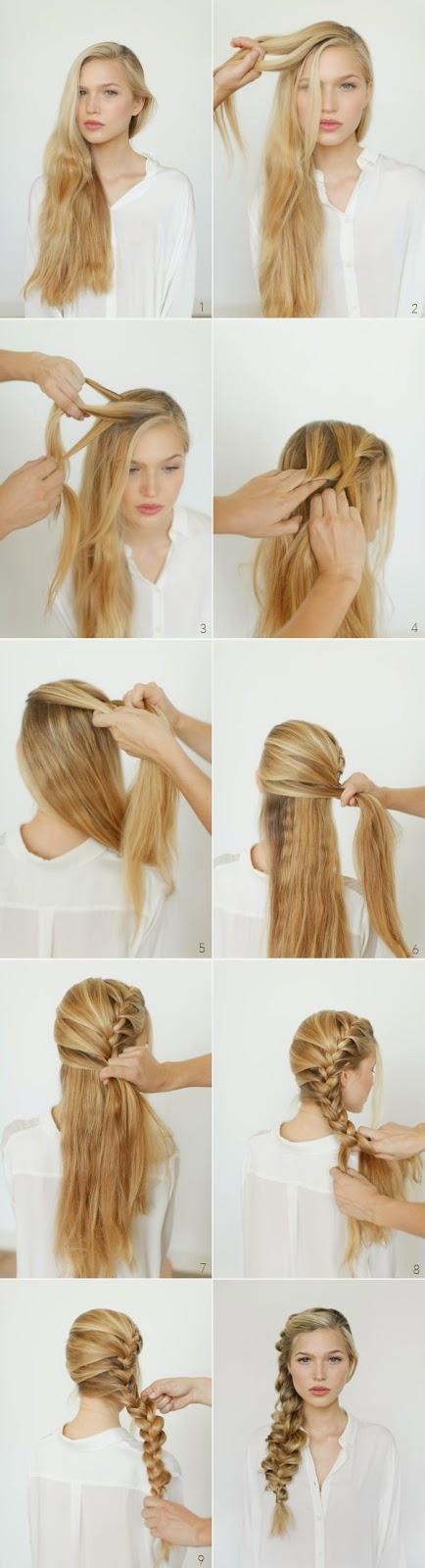 Model Cara Menata Rambut Sendiri