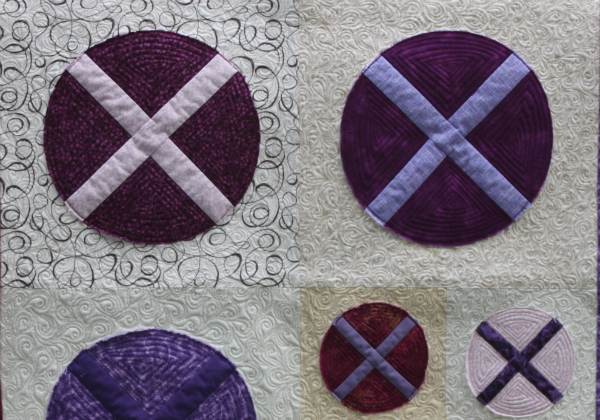 X Marks the Spot Mini Quilt Pattern | DevotedQuilter.blogspot.com
