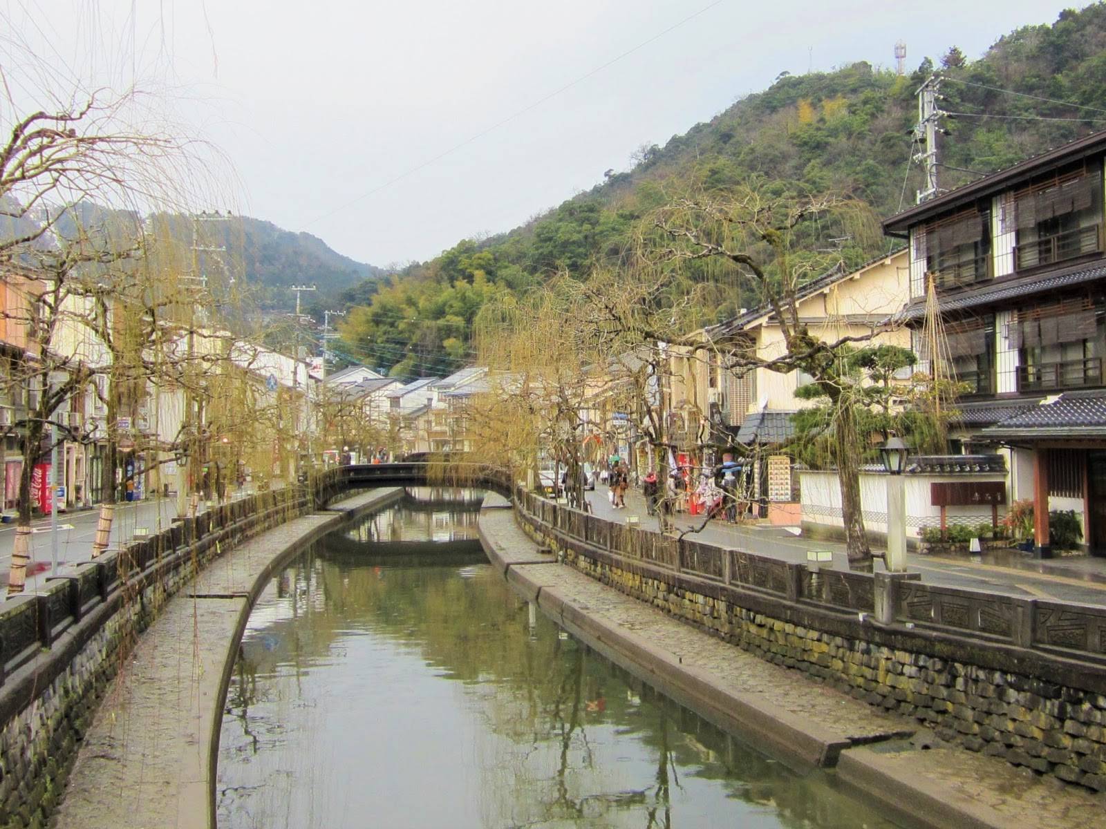 Kinosaki Onsen Is Located At The Northern End Of Hyogo Prefecture 兵庫県 Which Not Exactly Near Osaka Kobe City But Many Visitors To Kansai