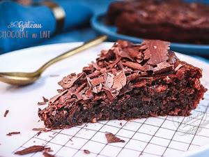 Gâteau au chocolat au lait aux blancs d'oeufs