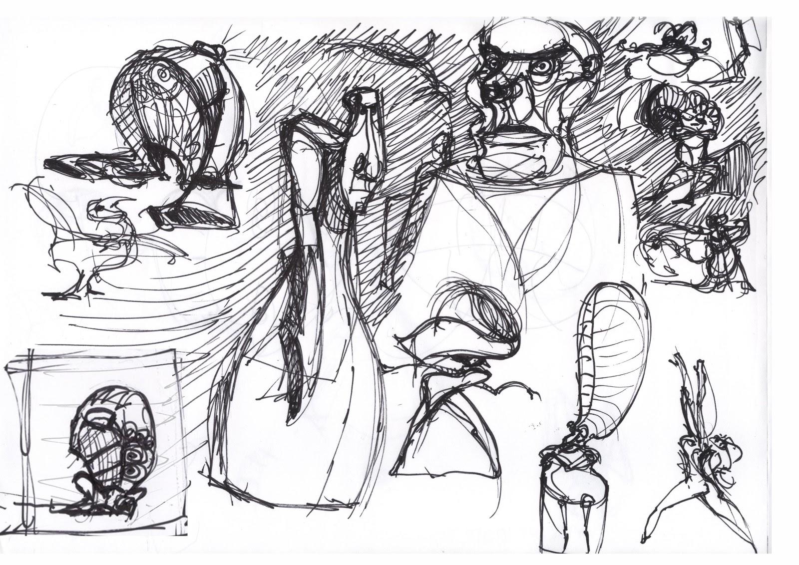 Yolantele October S Sketchbook