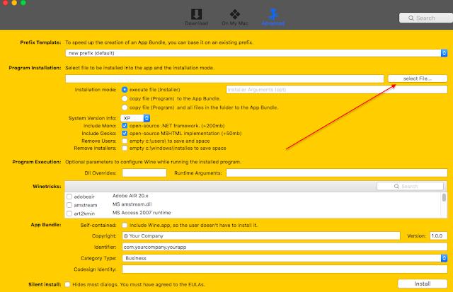 Cara Menginstall Aplikasi Windows .EXE di Mac OS X