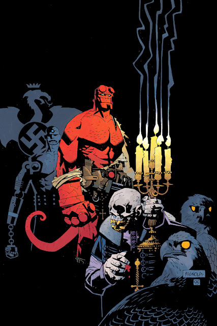 hellboy comic books