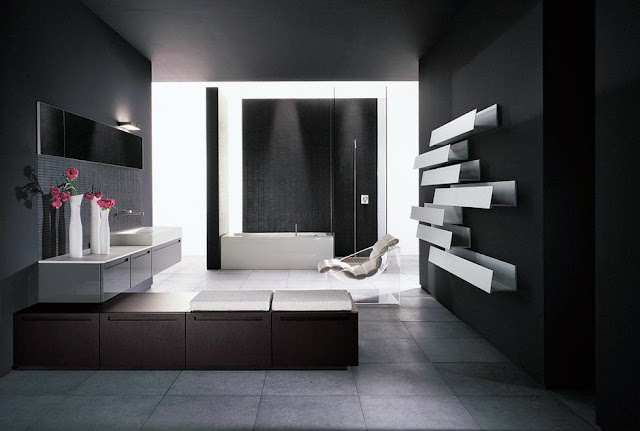 Black Bathroom Design Inspiration picture