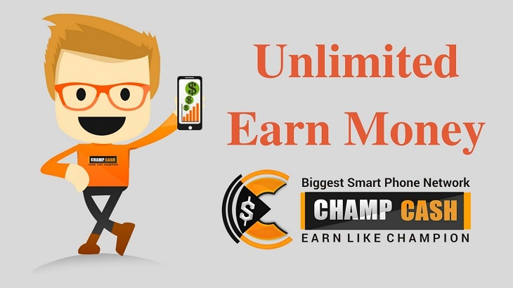 Make Money With Champcash App