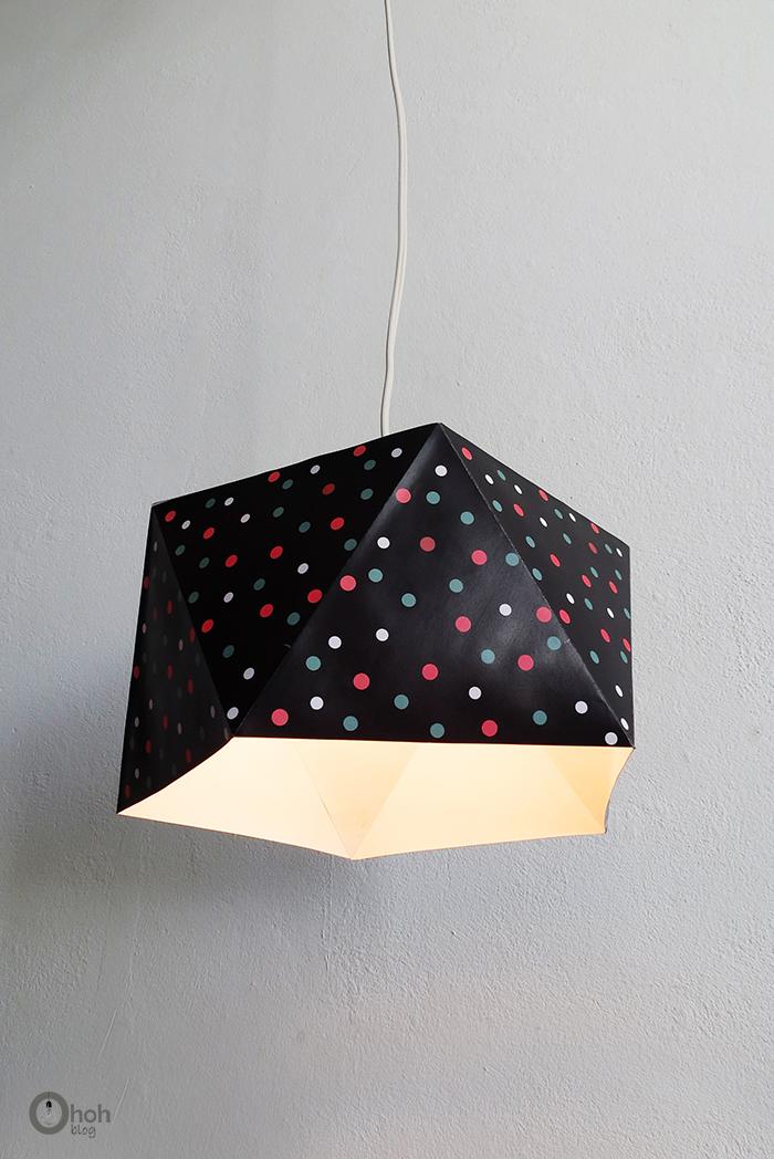 DIY printable lampshade