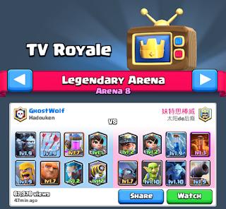 TV Royale Clash Royale