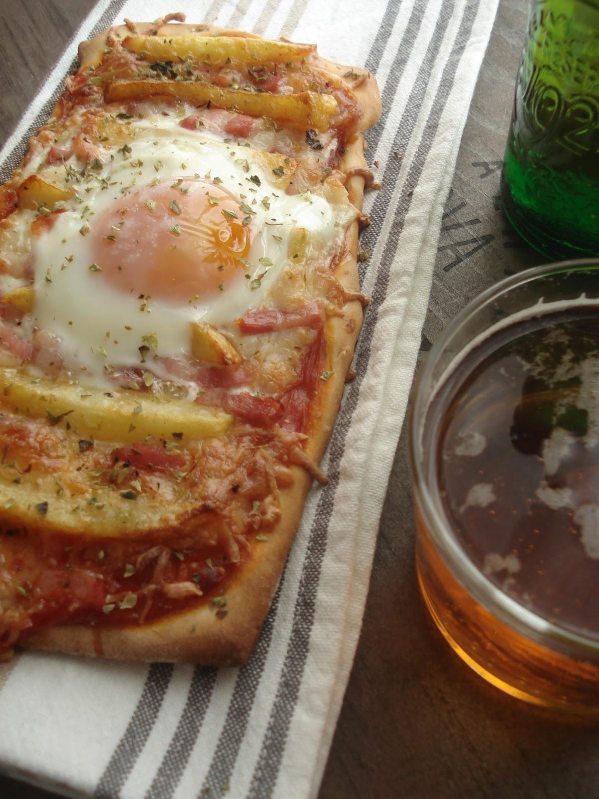 masa para pizza receta cerveza