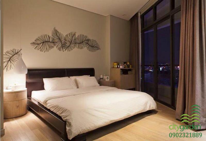 phòng ngủ đẹp | căn hộ city garden cho thuê