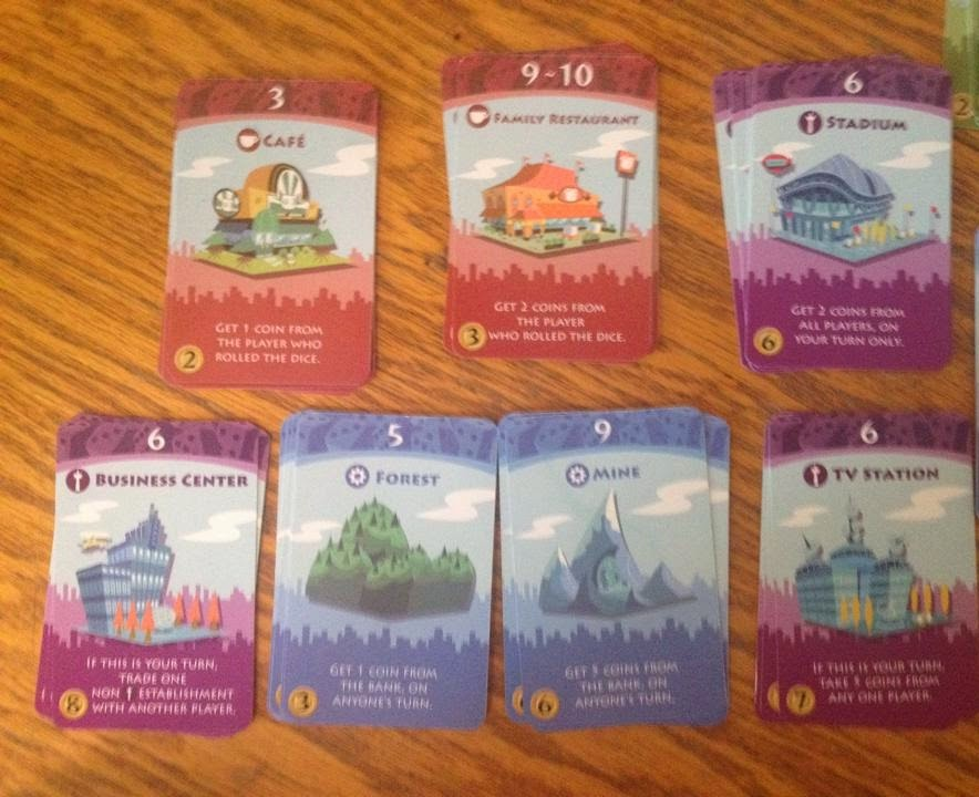 machi koro action card selection