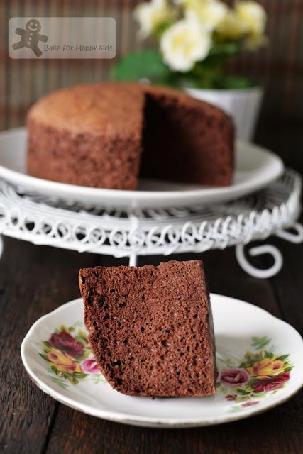 cocoa cotton sponge souffle cake