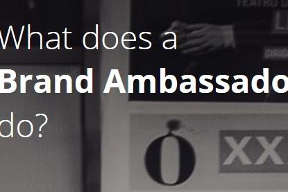 Jobs Description of A Brand Ambassador