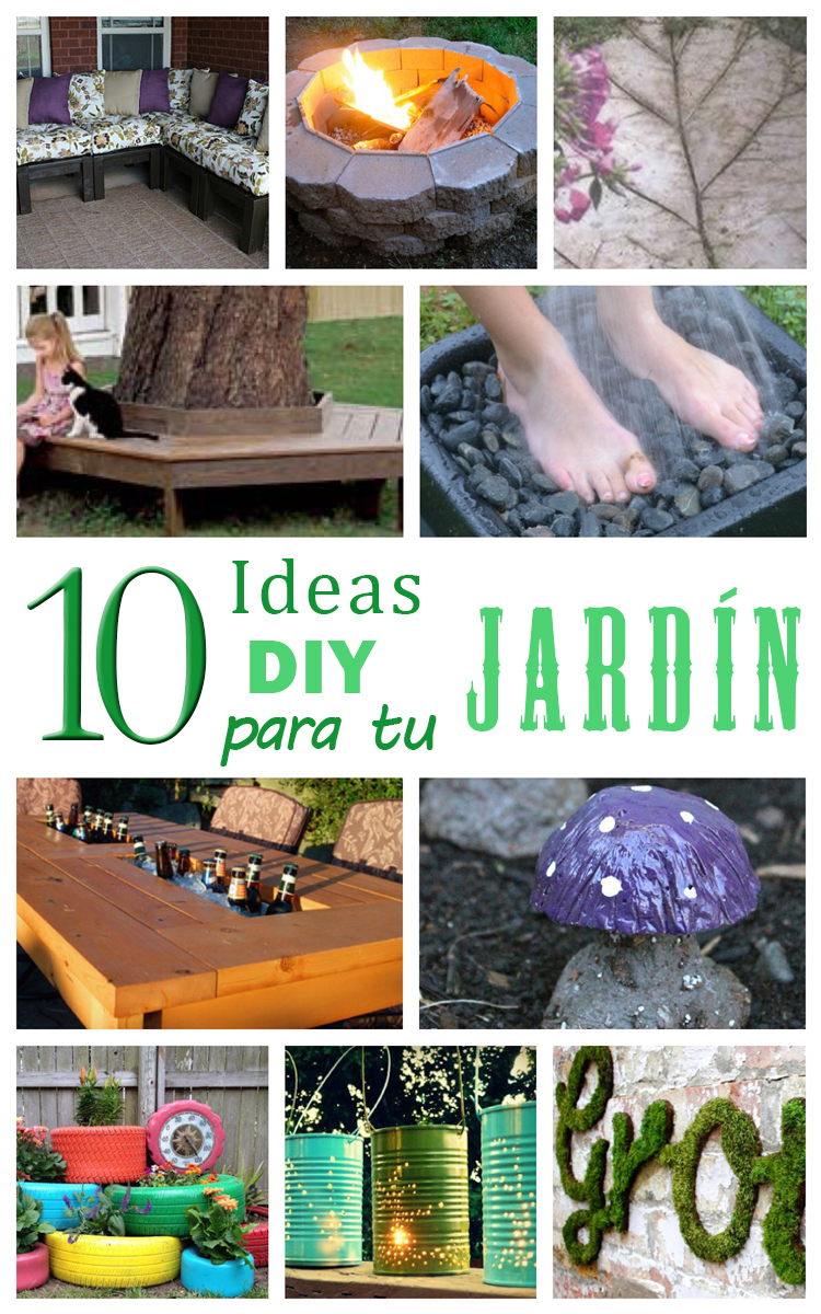 No solo diy 10 ideas diy para hacer en tu jard n - Ideas para tu jardin ...