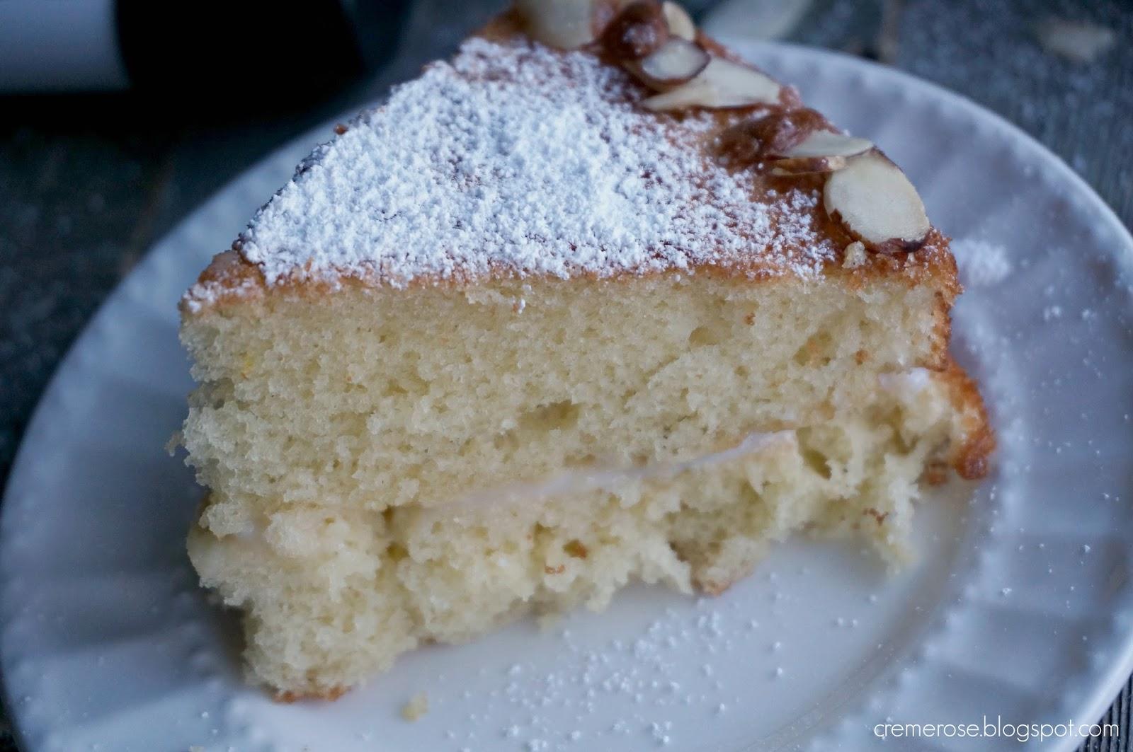 Almond Vanilla Cake