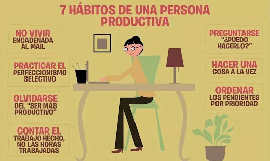 Copy Creativo: 7 hábitos de una persona productiva