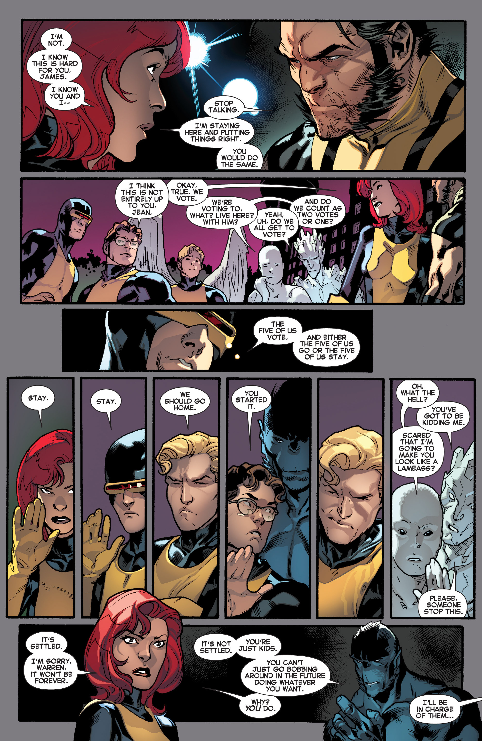 Read online All-New X-Men (2013) comic -  Issue # _Special - Yesterday's X-Men - 100