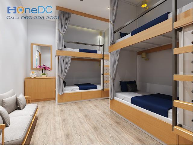 Thiết kế HomeStay cho anh Hoàng ở Q.1 TP. HCm