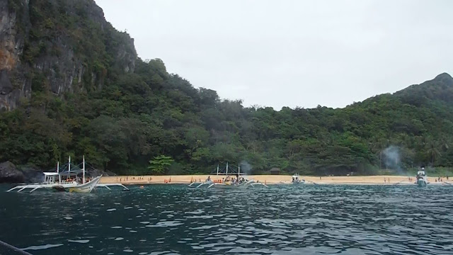 helicopter island el nido palawan philippines