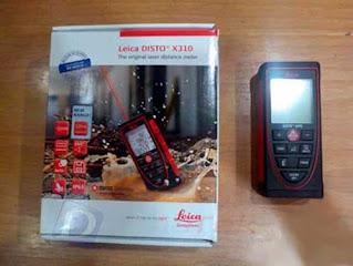 Darmatek Jual Leica DISTO™ X310 Laser Distance 120 Meter