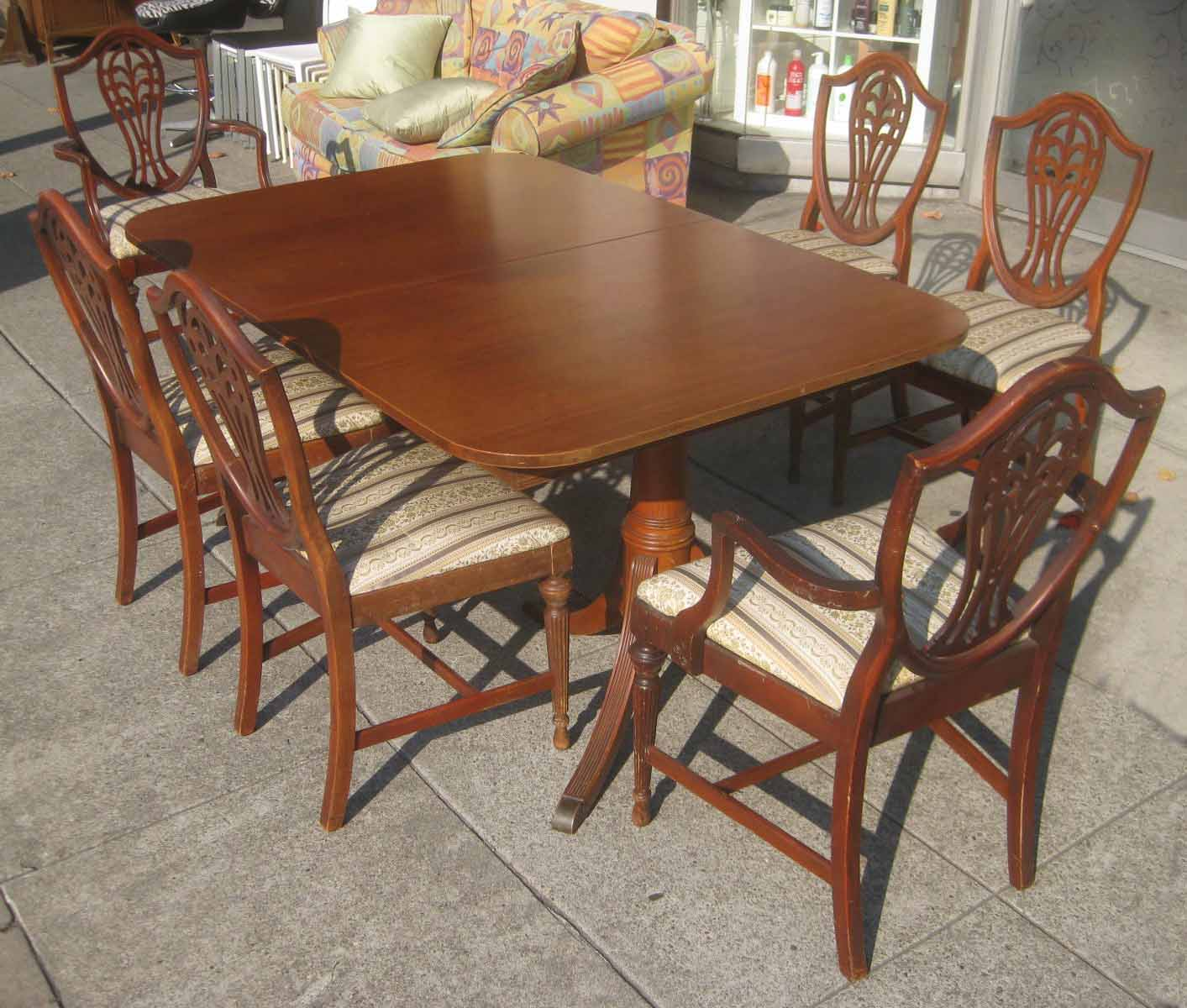 Duncan Phyfe Chairs Boat Bean Bag Uhuru Furniture And Collectibles Sold Table
