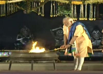 7 PM  Narendra Modi unveils 112 ft tall Shiva statue in Coimbatore, India