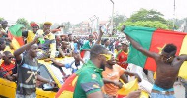 جماهير الكاميرون تحتشد لاستقبال منتخب بلادها