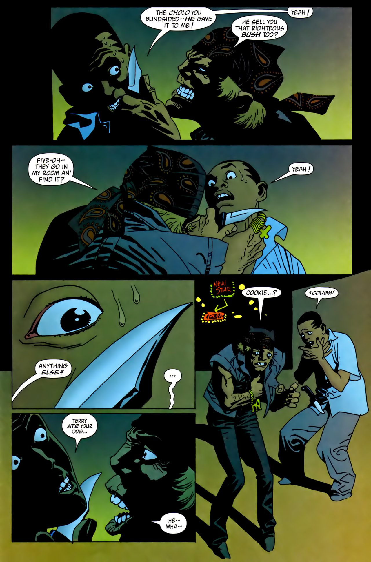 Read online 100 Bullets comic -  Issue #62 - 22