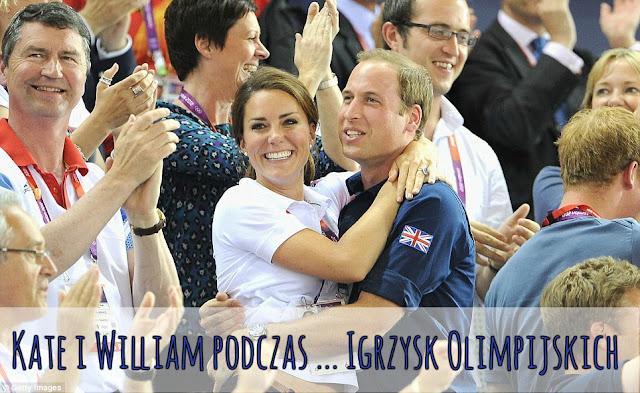 Kate i William podczas ... Igrzysk Olimpijskich i Paraolimpijskich 2012