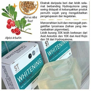 Whitening Bar soap Sendayu Tinggi