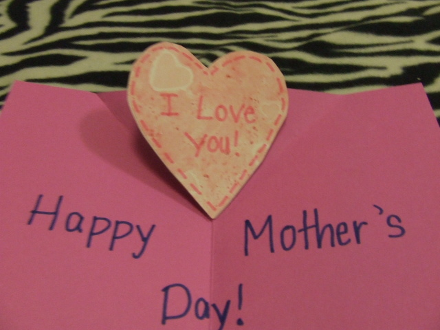 Wayward Girls Crafts Mother S Day Cards For Kids 2 Pop Up Cards