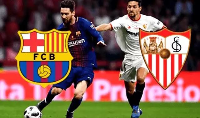 موعد مباراة برشلونة واشبيلية والتشكيل المتوقع والقنوات 23-2-2019