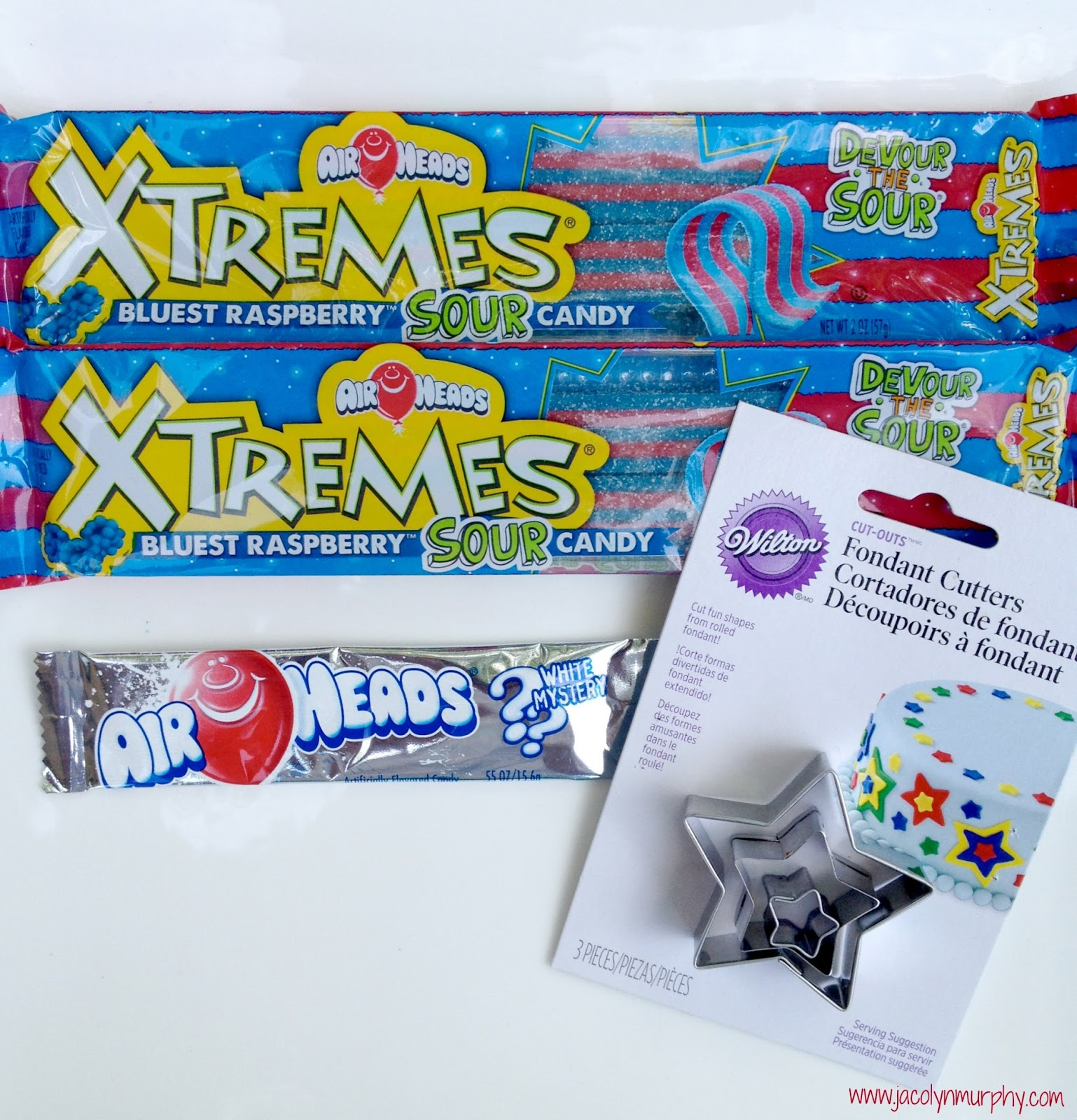 Jac o' lyn Murphy: Airheads love Independence Day! Candy