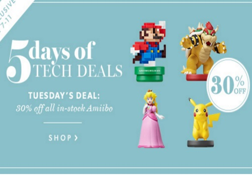 Chapters Indigo 30% off all in-stock Amiibo