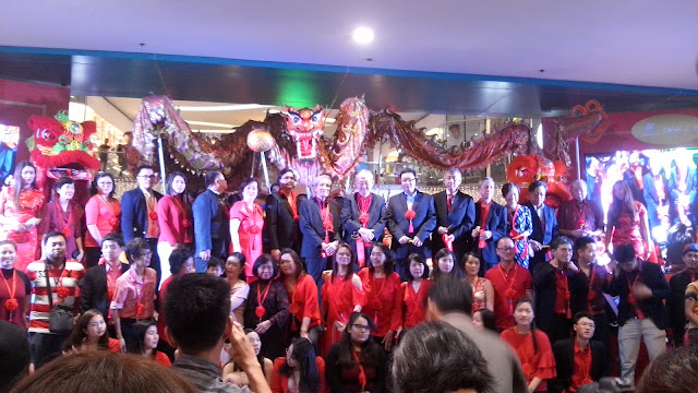 Dragon and Lion dance