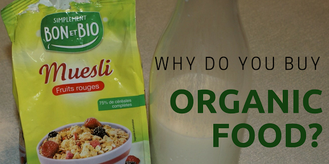 Why do you buy organic food?