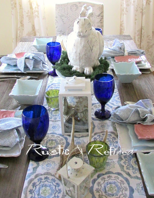 Decorating the home with a Spring Season Tablescape